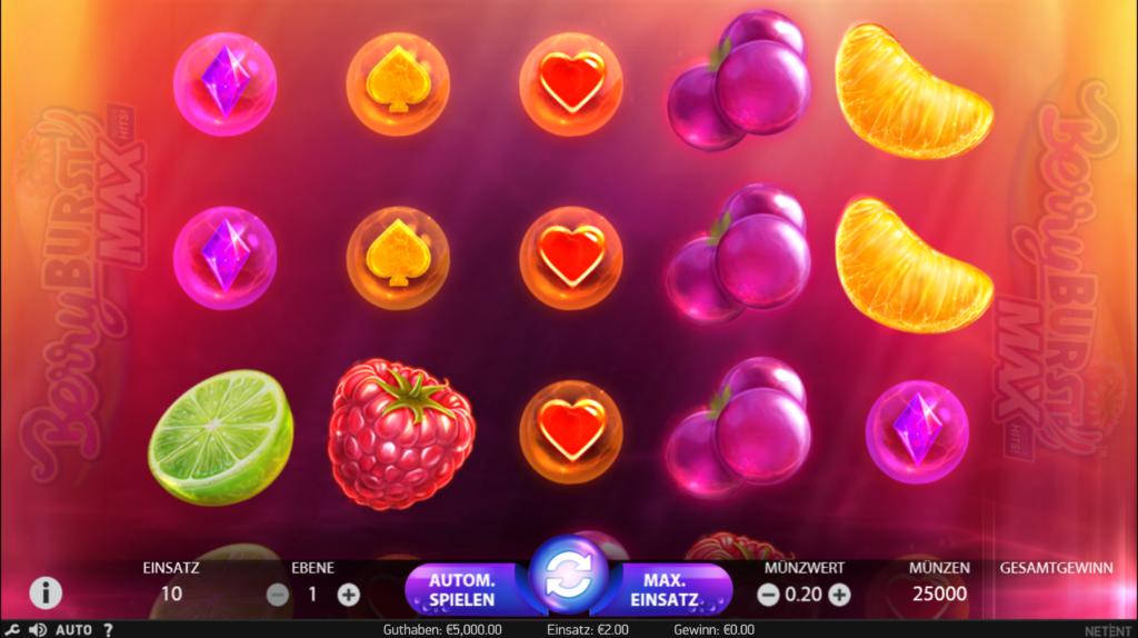 Berryburst Max kostenlos spielen