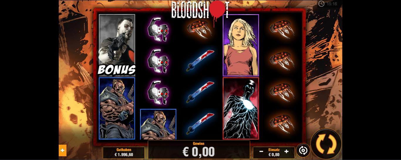 BloodShot kostenlos spielen