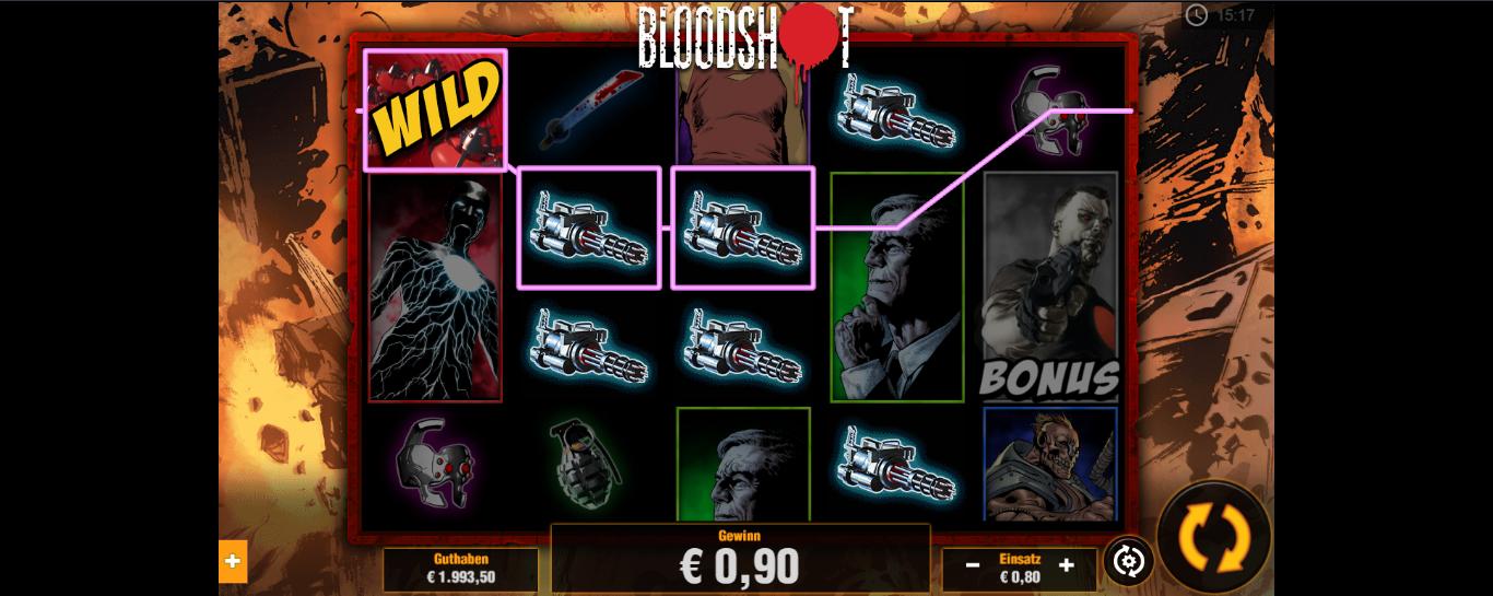 BloodShot kostenlos testen