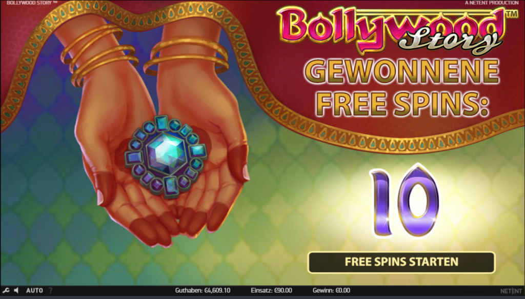 Bollywood story free spin