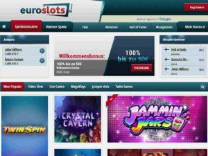 EuroSlots Bonus 1