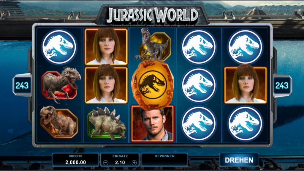 Jurassic world spielen