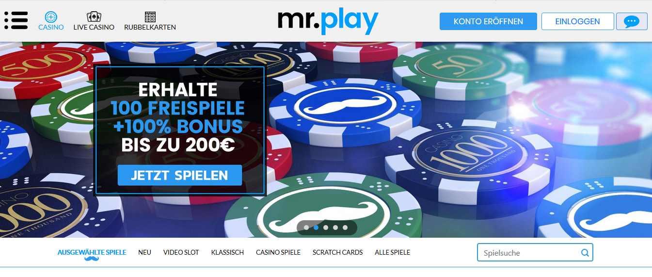 MrPlay Online Casino