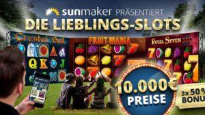 Sunmaker Verlosung Gamomat
