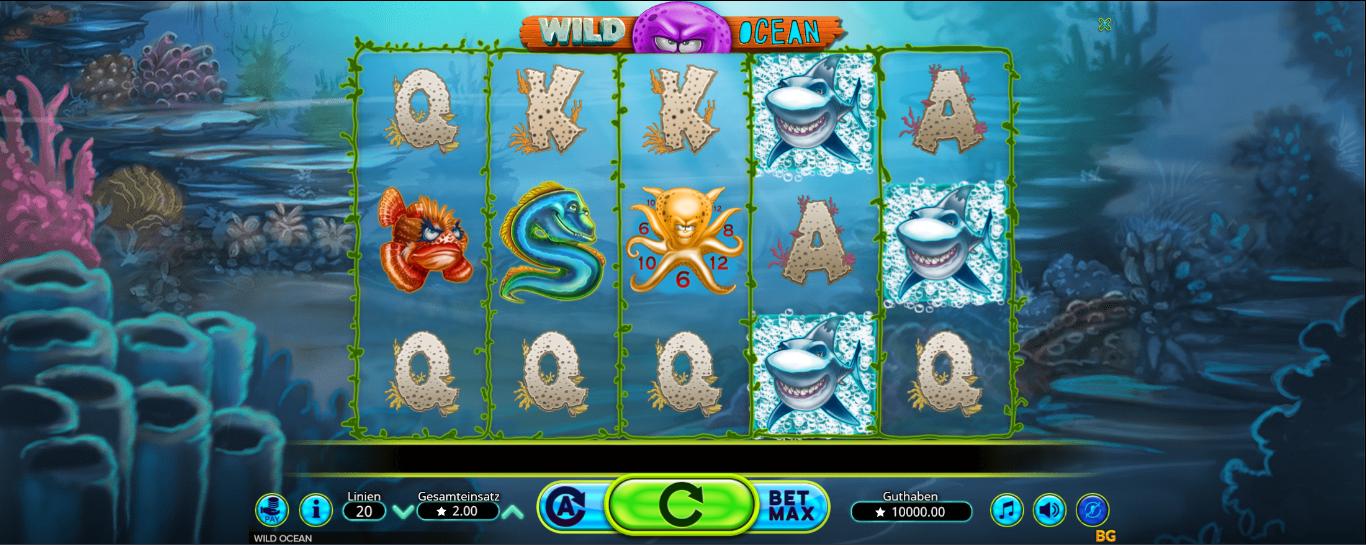 Wild Ocean kostenlos spielen
