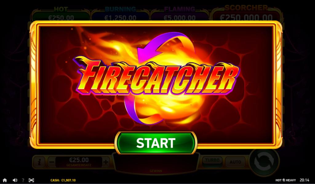 hot & Heavy firecatcher