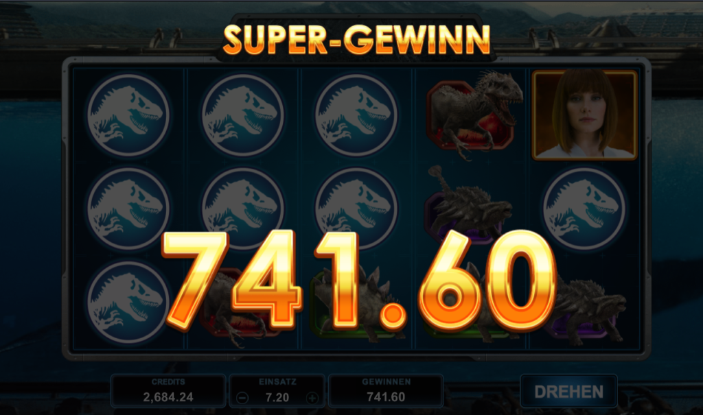 jurassic world super gewinn