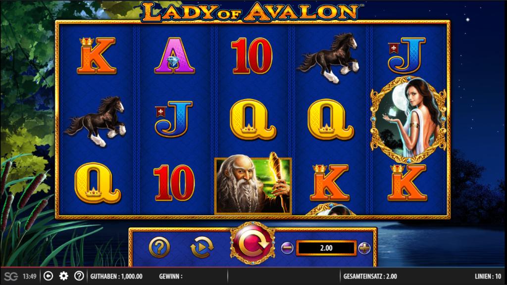 lady of avalon spielen