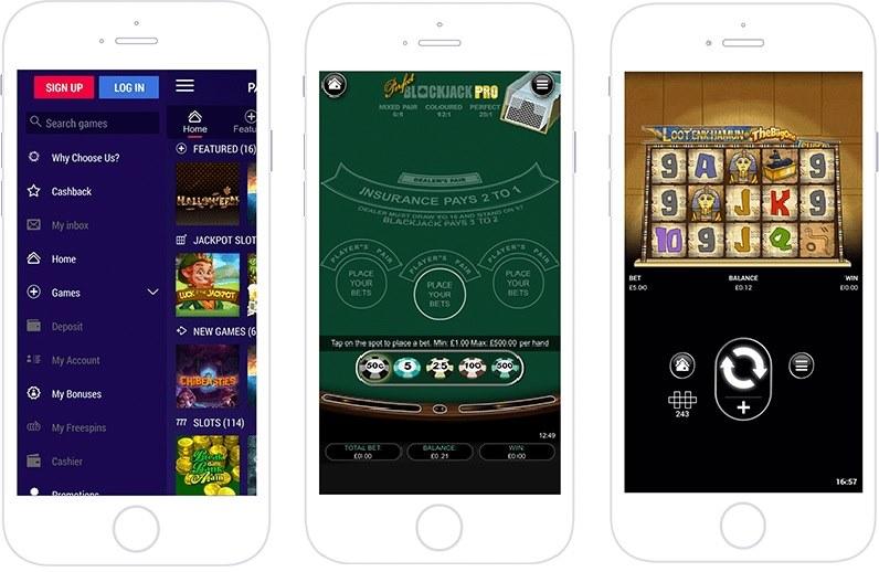 Partycasino App