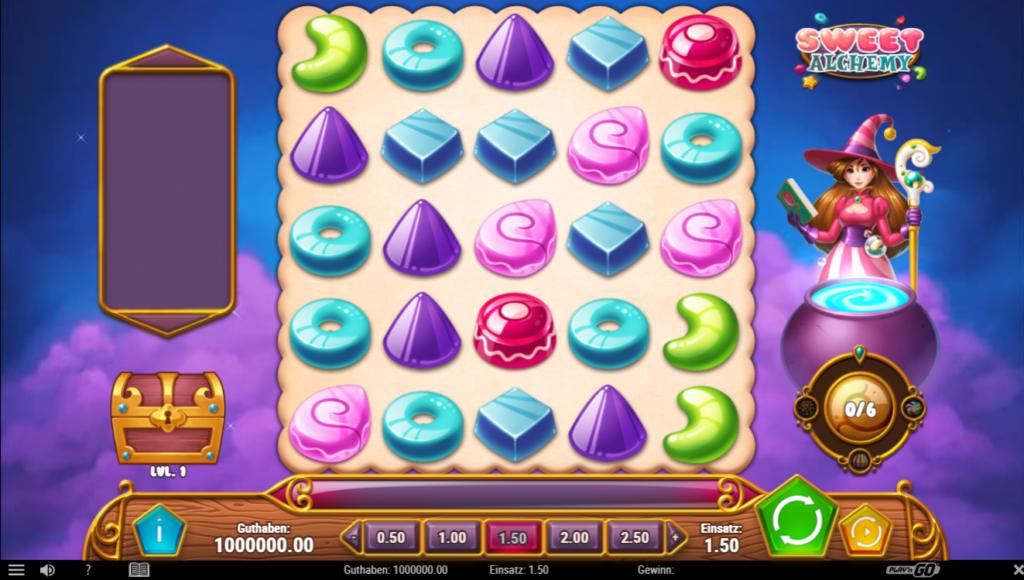 sweet alchemy spielen