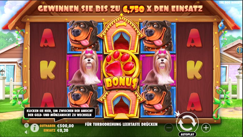 the dog house spielen
