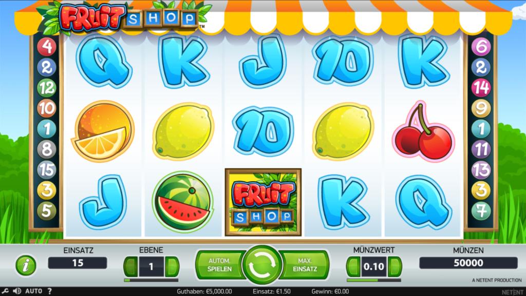 Fruit Shop kostenlos spielen