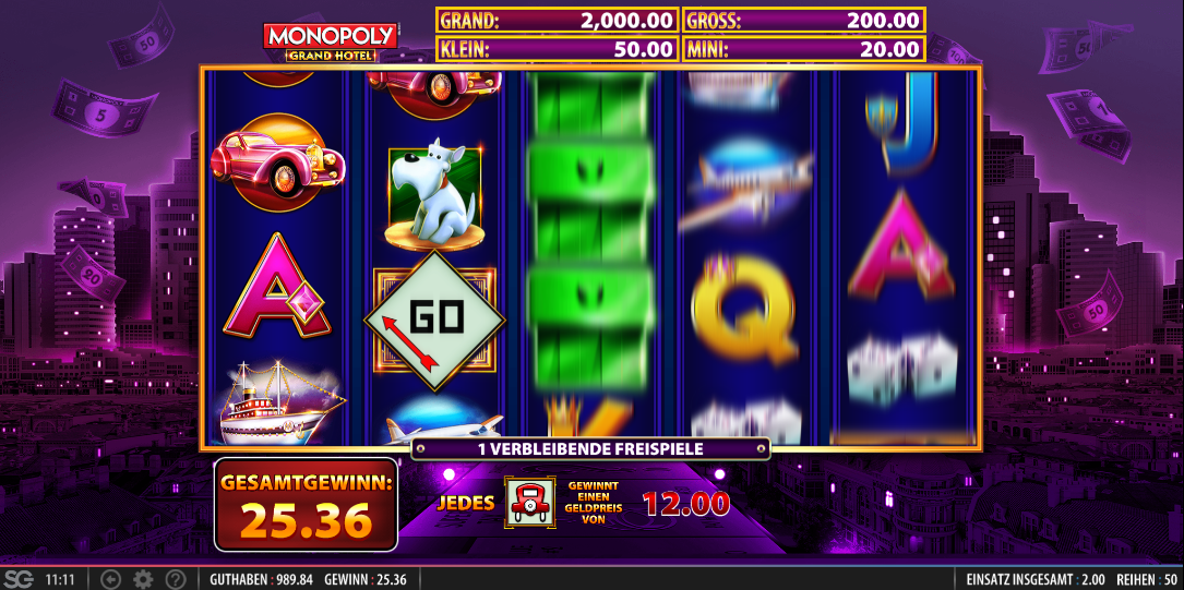 Chances games and casino