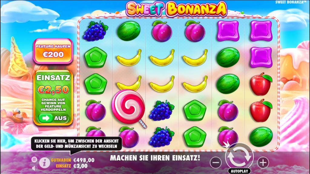 sweet bonanza spielen