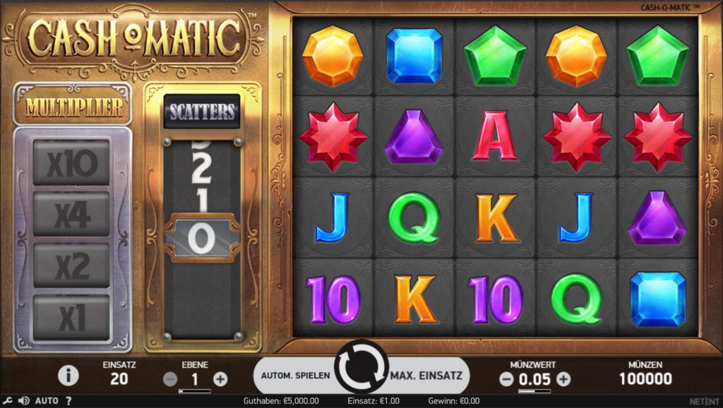 Cash-O-Matic kostenlos spielen