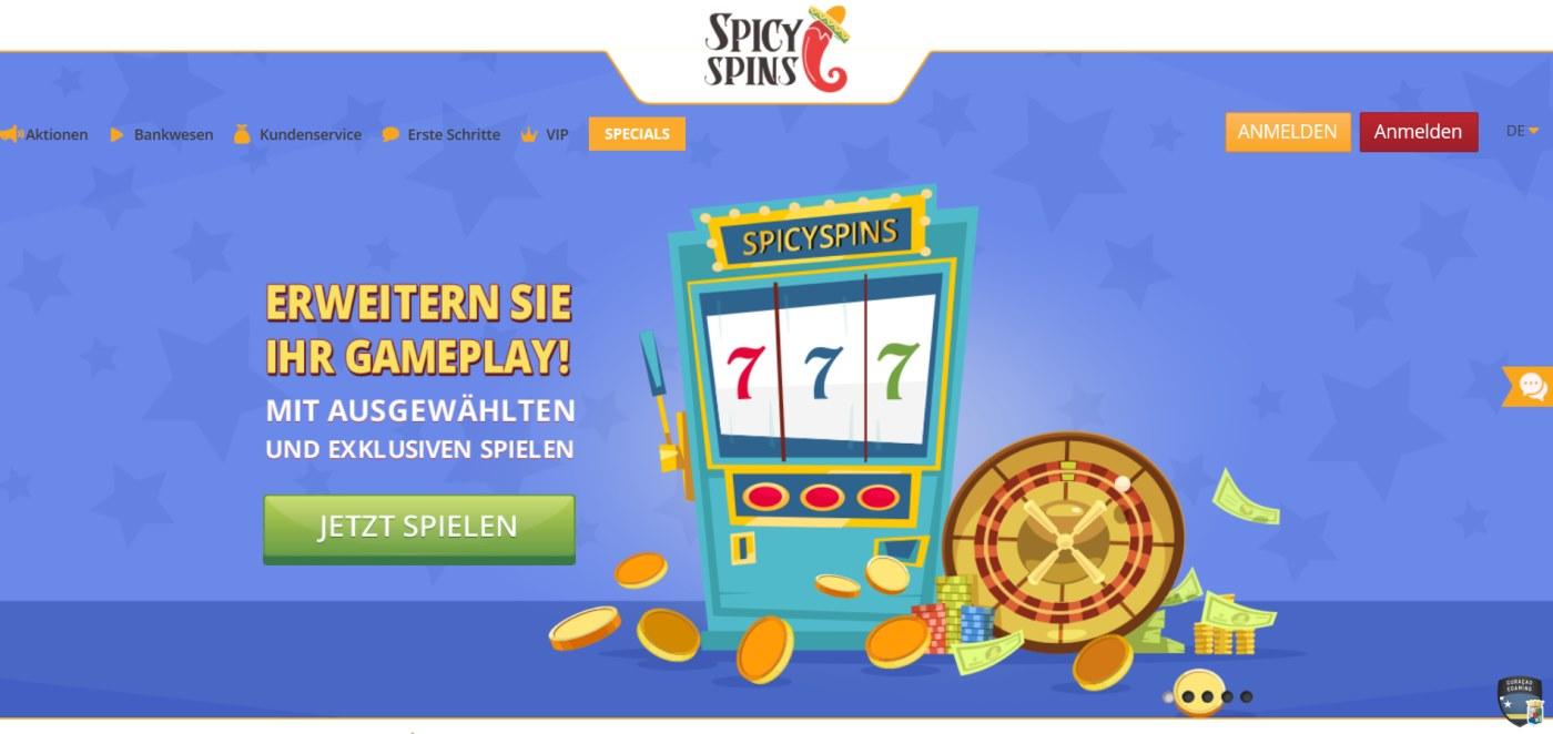 SpicySpins Casino 1