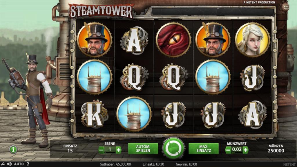 Steam Tower kostenlos spielen