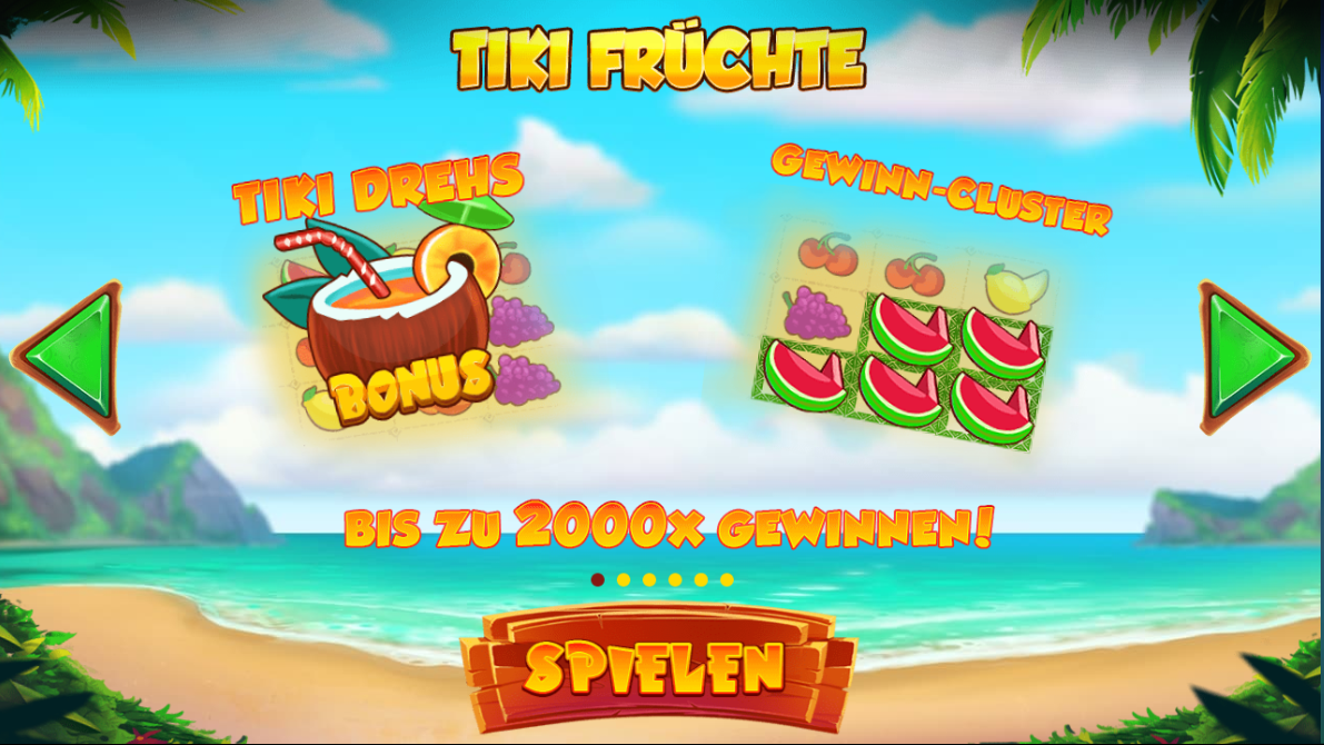 Spiele Tiki Fruits - Video Slots Online