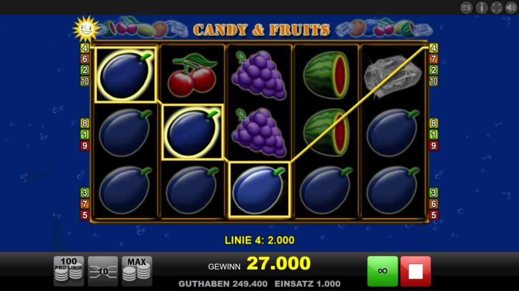 Candy & Fruits kostenlos