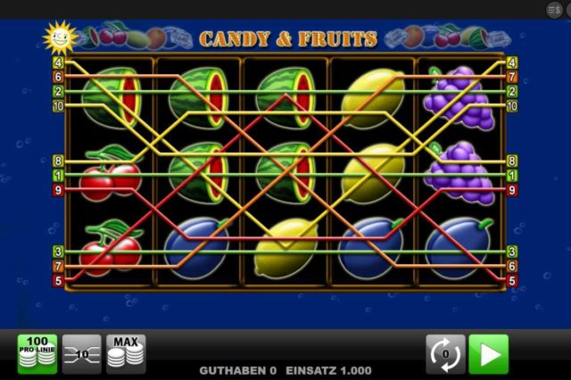 Candy & Fruits kostenlos
