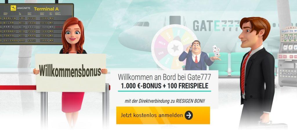 Gate777 Bonus 1