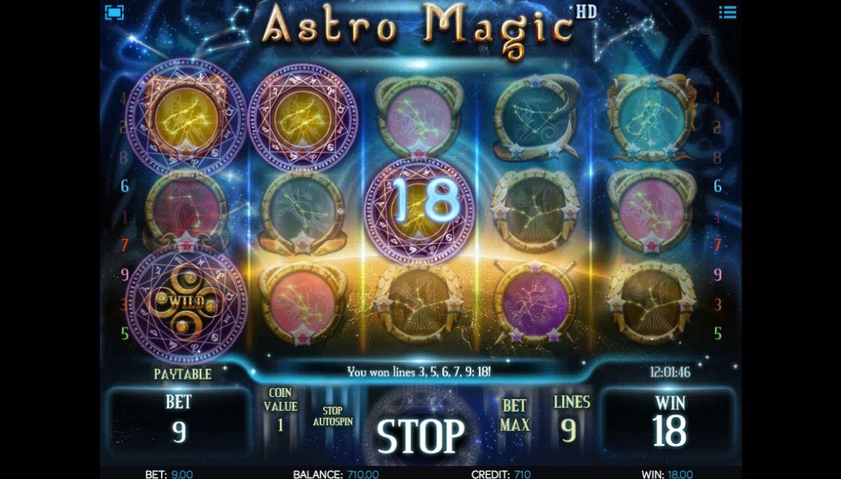 Astro Magic HD kostenlos spielen 3