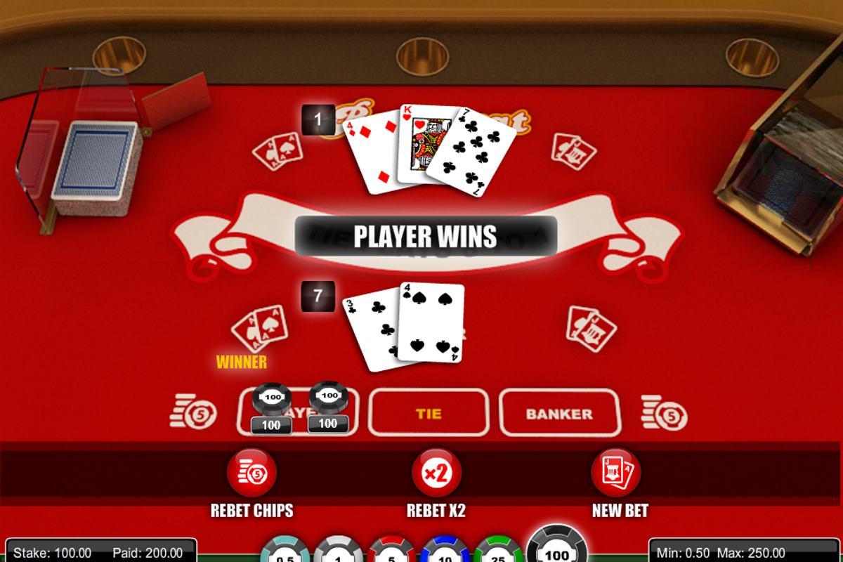 Gratis Baccarat Online Spielen Zum Spass