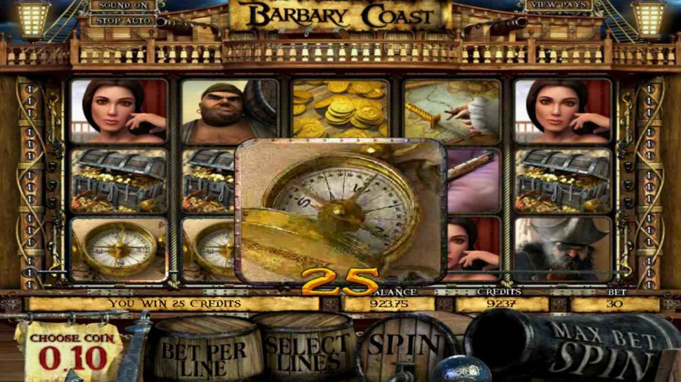 Barbary Coast kostenlos spielen 1