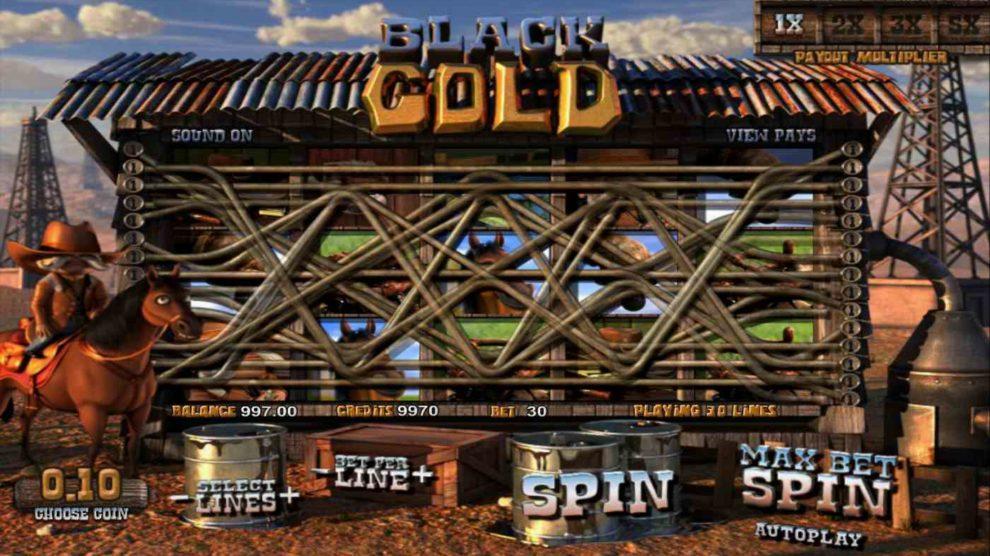Black Gold kostenlos spielen 1
