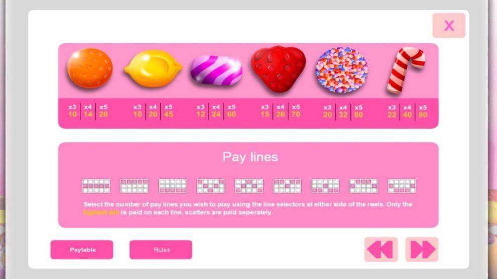 Candy Cash kostenlos spielen 1