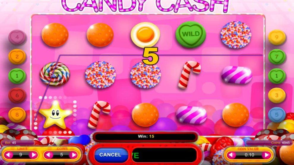 Candy Cash kostenlos spielen 3
