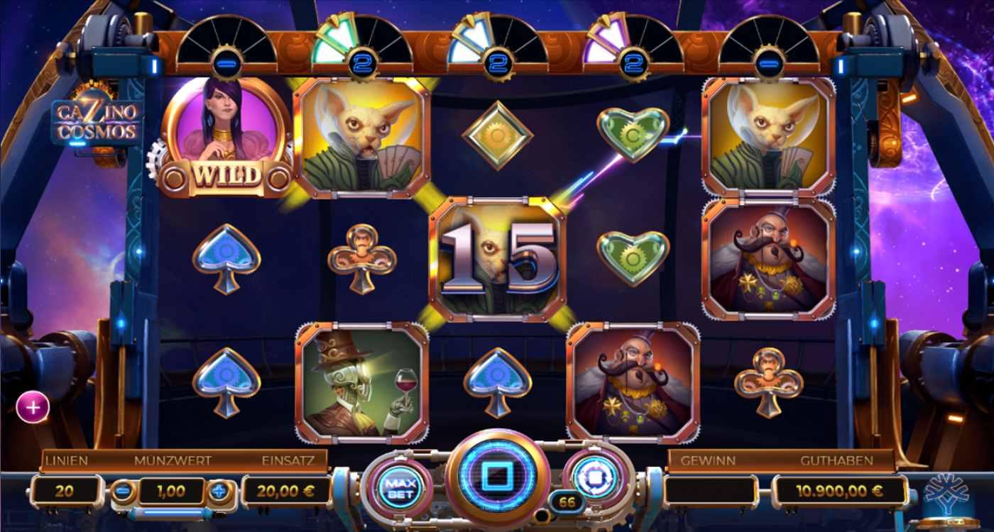 Casino cosmos slots