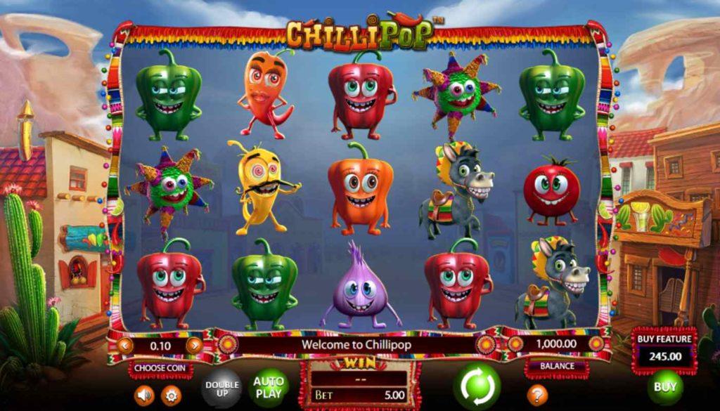Chillipop kostenlos spielen