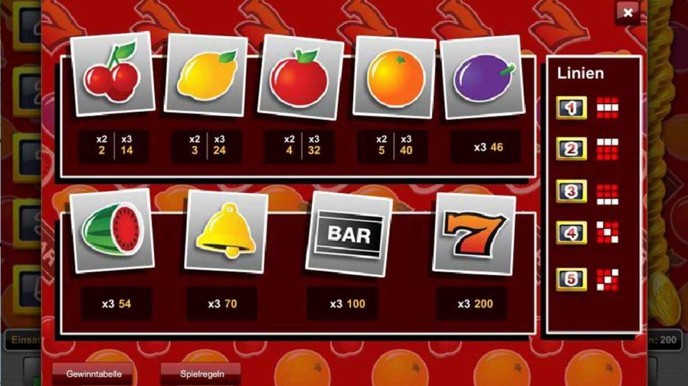 Classic Fruit kostenlos spielen 2