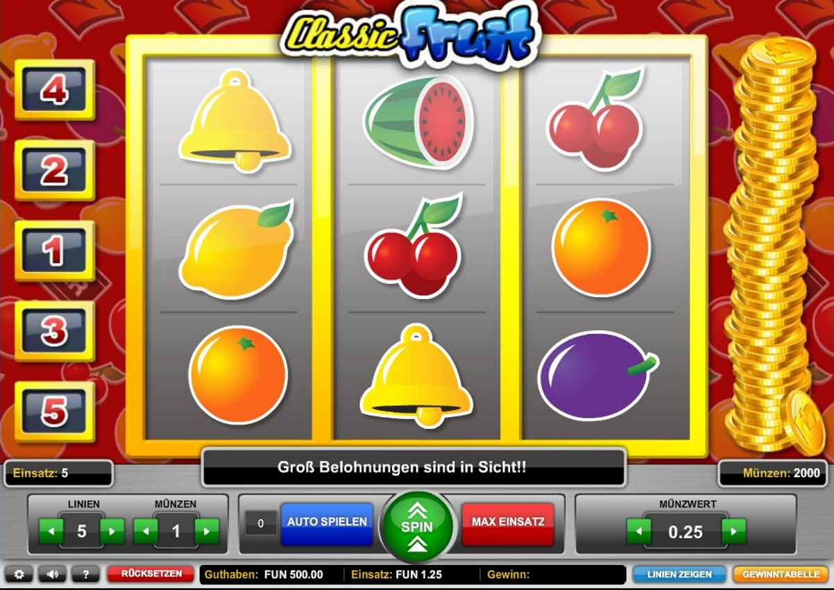 Fruit Spiele Kostenlos