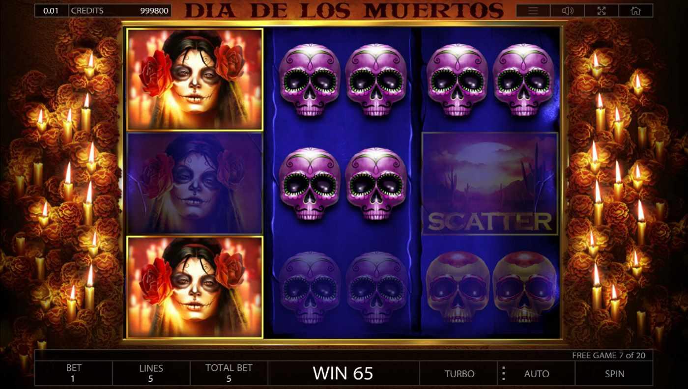 Dia De Los Muertos kostenlos spielen 3