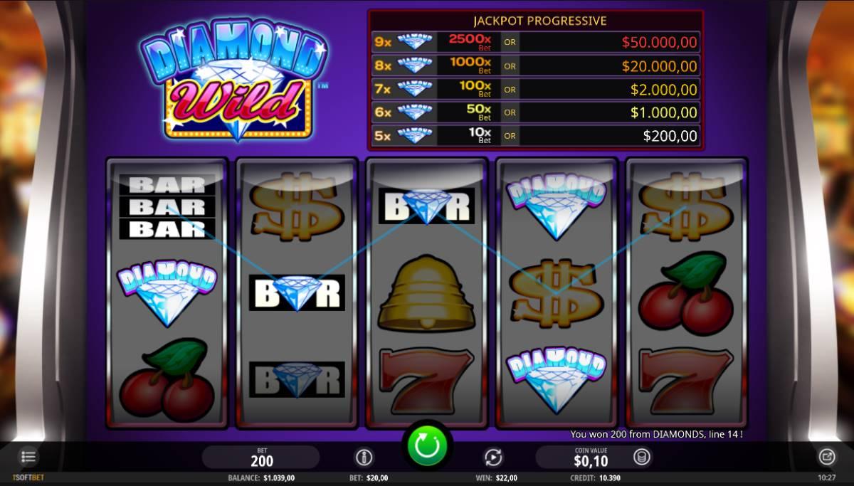 Diamond Wild kostenlos spielen 2