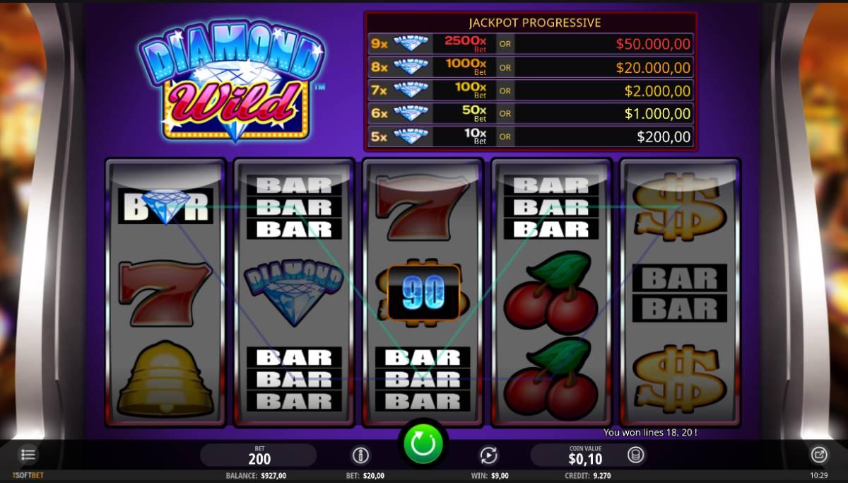 Diamond Wild kostenlos spielen 3