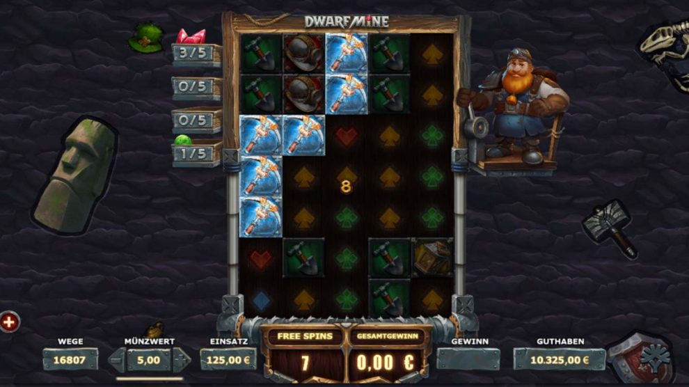 Dwarf Mine kostenlos spielen 2