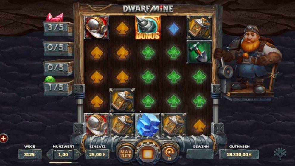 Dwarf Mine kostenlos spielen 1