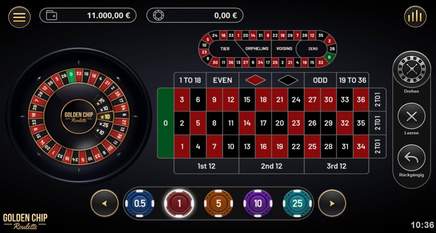 Chip Beim Roulette