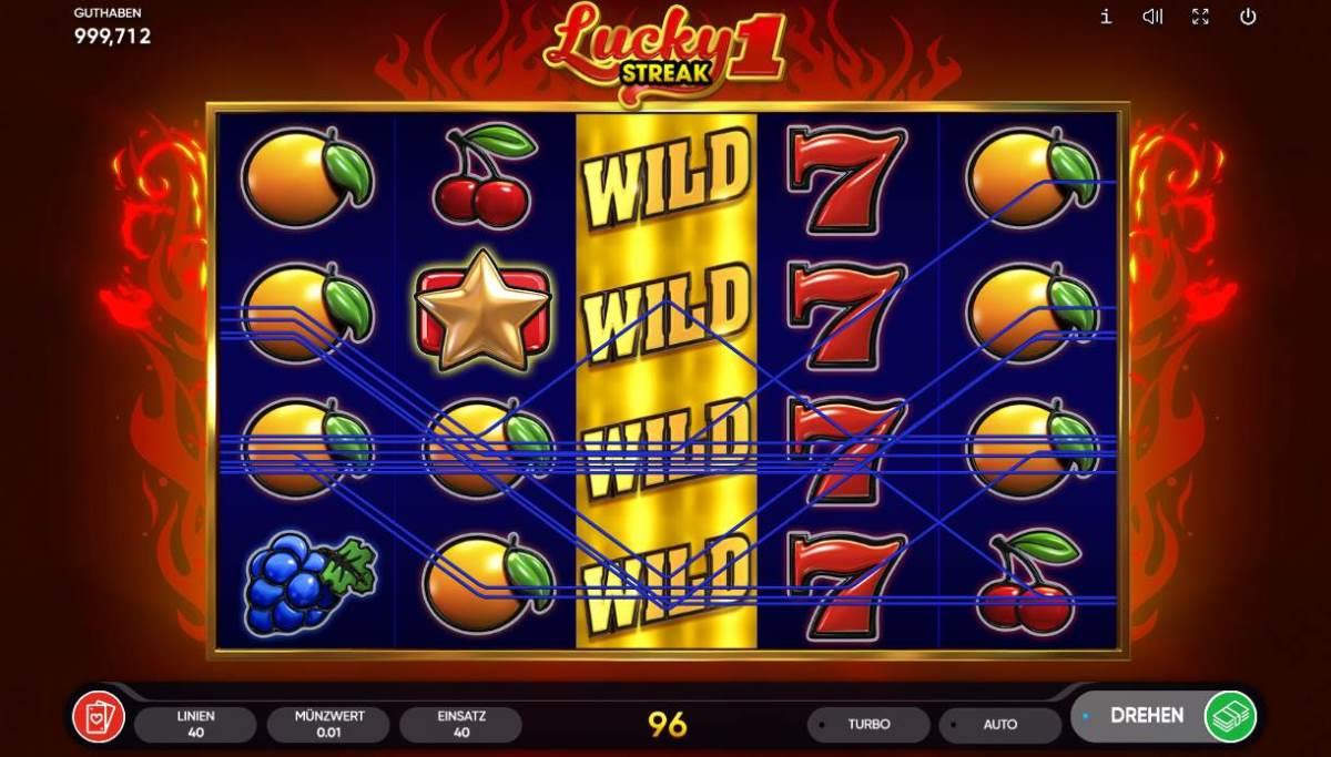 Lucky Streak 1 kostenlos
