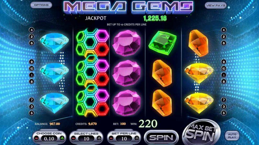 Mega Gems kostenlos spielen 1
