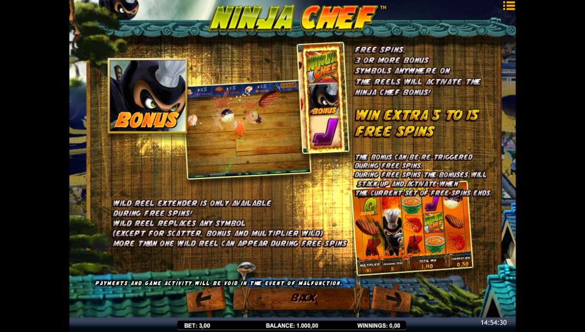 Ninja Chef kostenlos