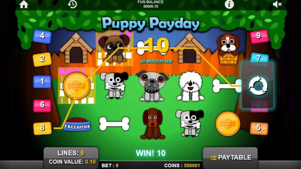 Puppy Payday kostenlos spielen 2