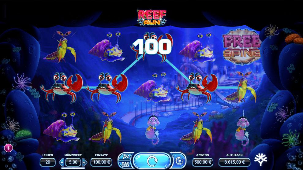 Reef Run kostenlos spielen 4