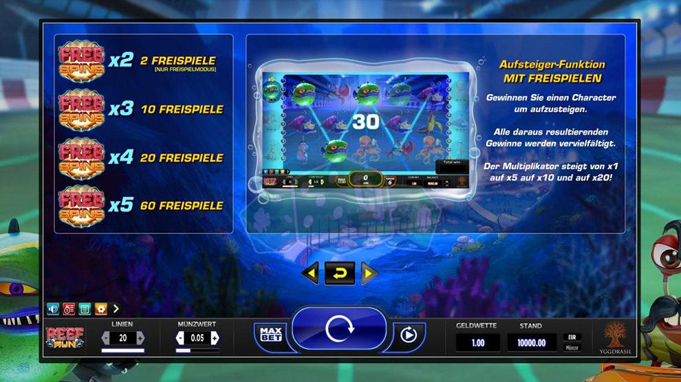 Reef Run kostenlos spielen 2