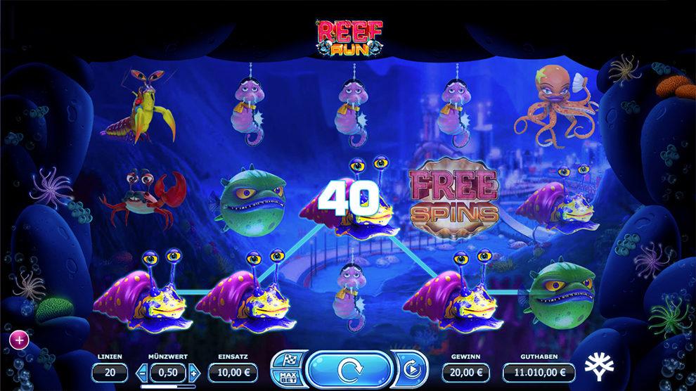 Reef Run kostenlos spielen 1