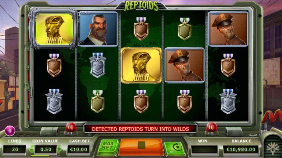 Reptoids kostenlos spielen 3