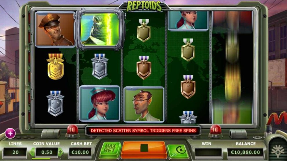 Reptoids kostenlos spielen 2
